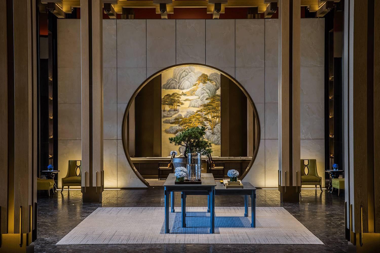 酒店设计方案,中华民俗传统文化的结合 (图1)