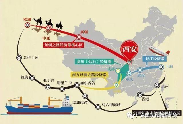 """【一带一路】吴绍洪:""""一带一路""""陆域地理格局与环境图片"""