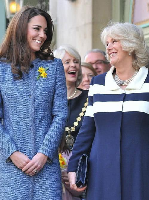 与戴安娜相比,凯特王妃处理这种事情的方式跟态度更像卡米拉