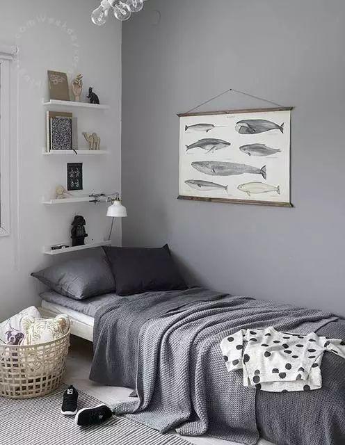 for Dormitorios pintados de gris