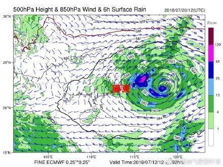 台风季又到 1个在南海,1个可能来澳门 双台风胚胎开始骚动