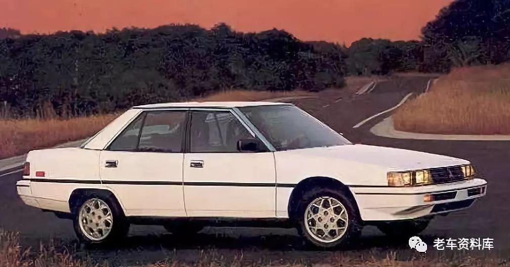 1983年至1989年生产的第五代三菱galant