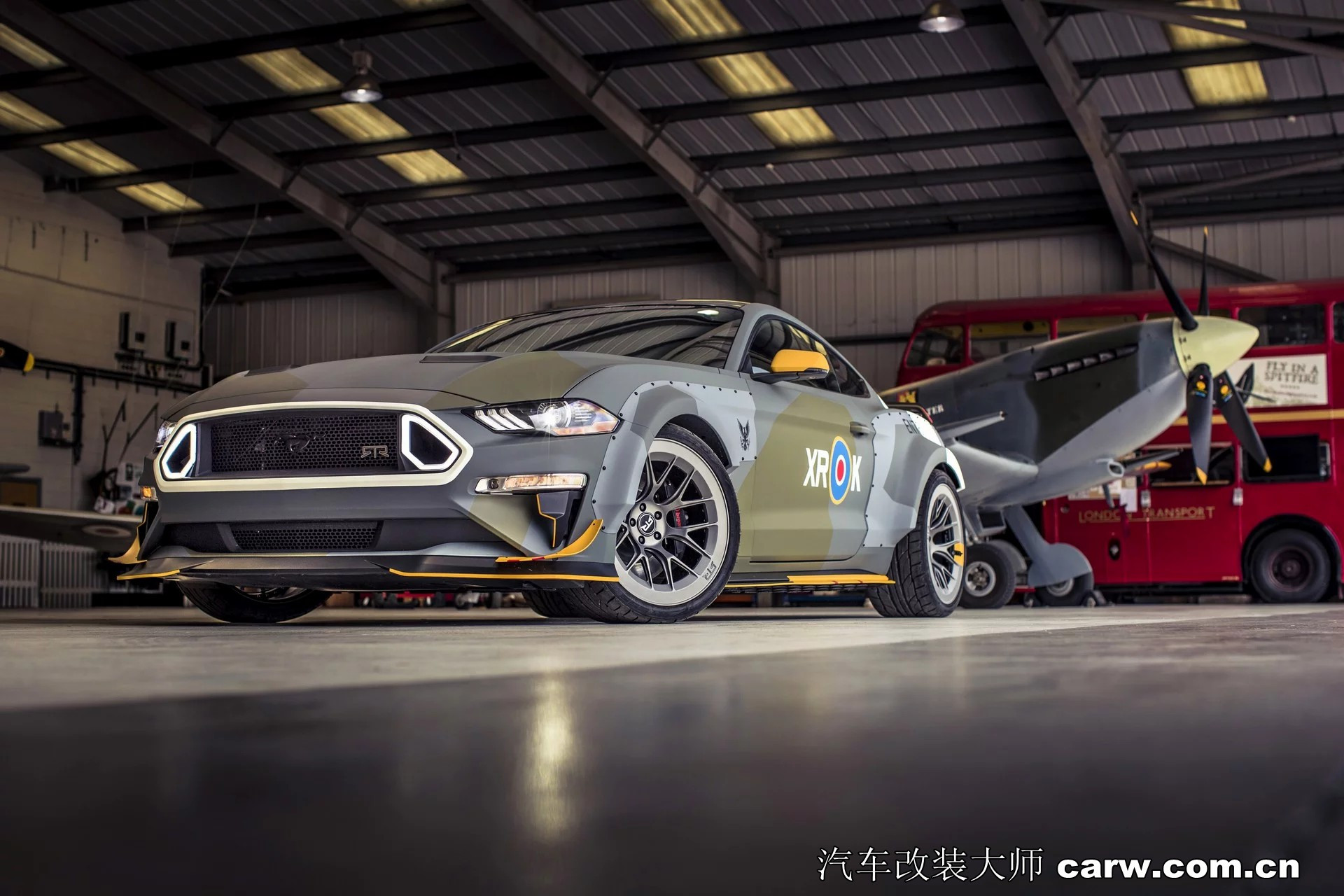 肌肉车你喜欢就快看看鹰中队野马GT超酷改装
