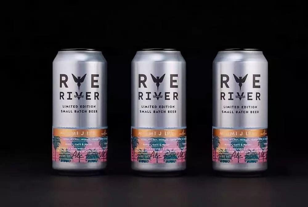 Rye River Beer 限量版啤酒包裝設計