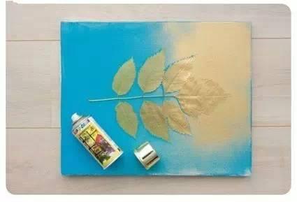 用树叶变废为宝手工制作相框diy步骤