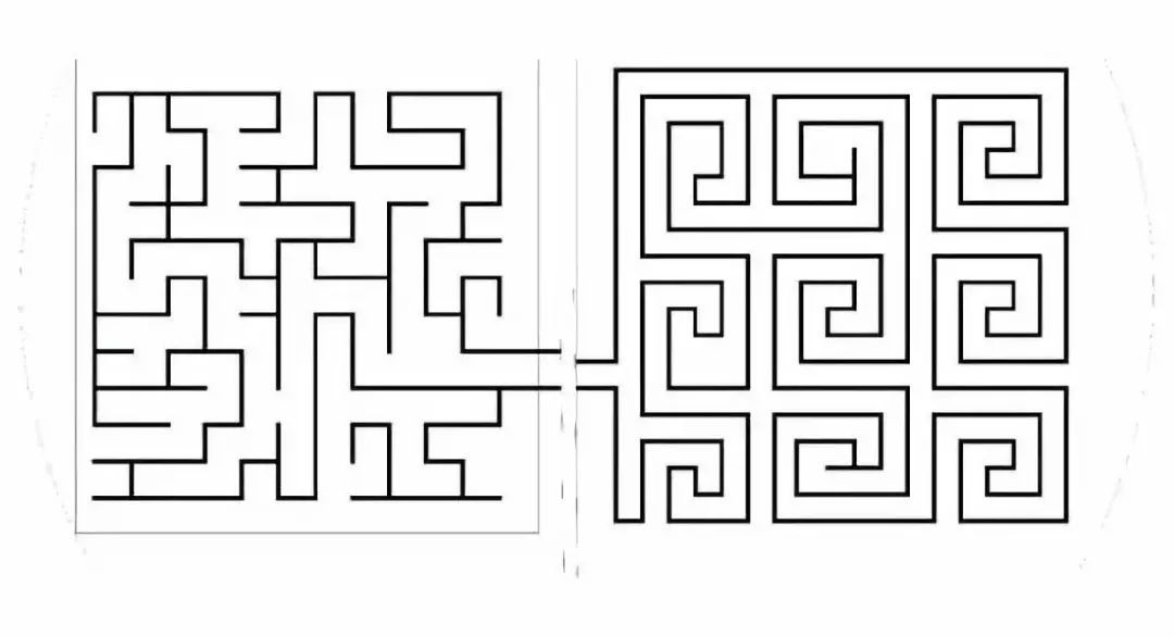 正方形大型迷宫设计图
