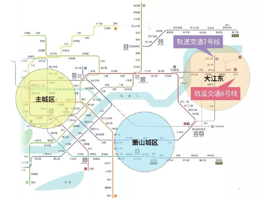 (杭州地铁规划图)图片