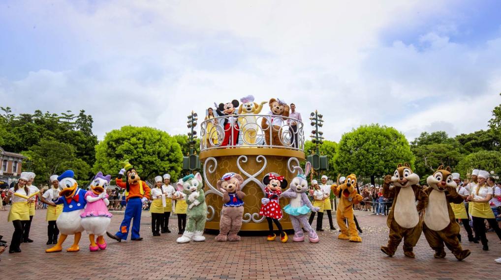 """香港迪士尼乐园水动暑假 2天1夜""""迪士尼巨星嘉年华""""大玩水花"""