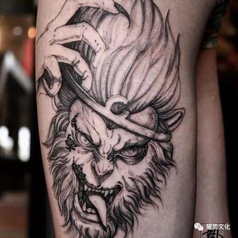 齐天大圣____纹身素材