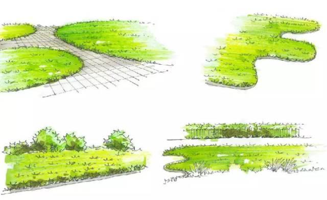 马克笔如何斜推 斜推是透视图中不可避免的笔触,两条线只要有交点