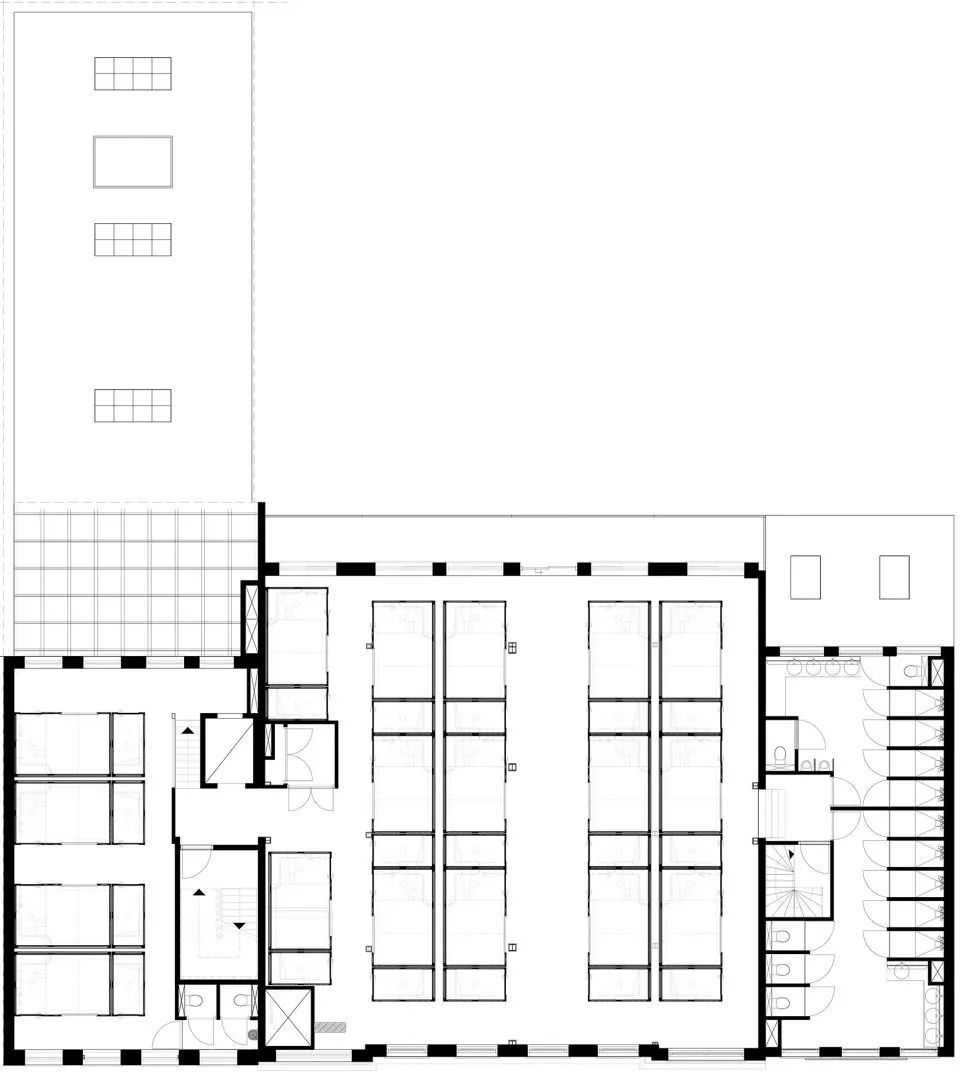 v时代数字化时代的居住者-CityHub工装室吊顶酒店内设设计装修图片