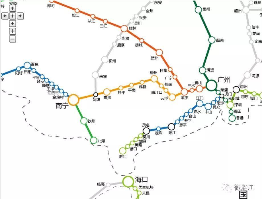 贺州站规划_广西最新高铁规划图 _排行榜大全