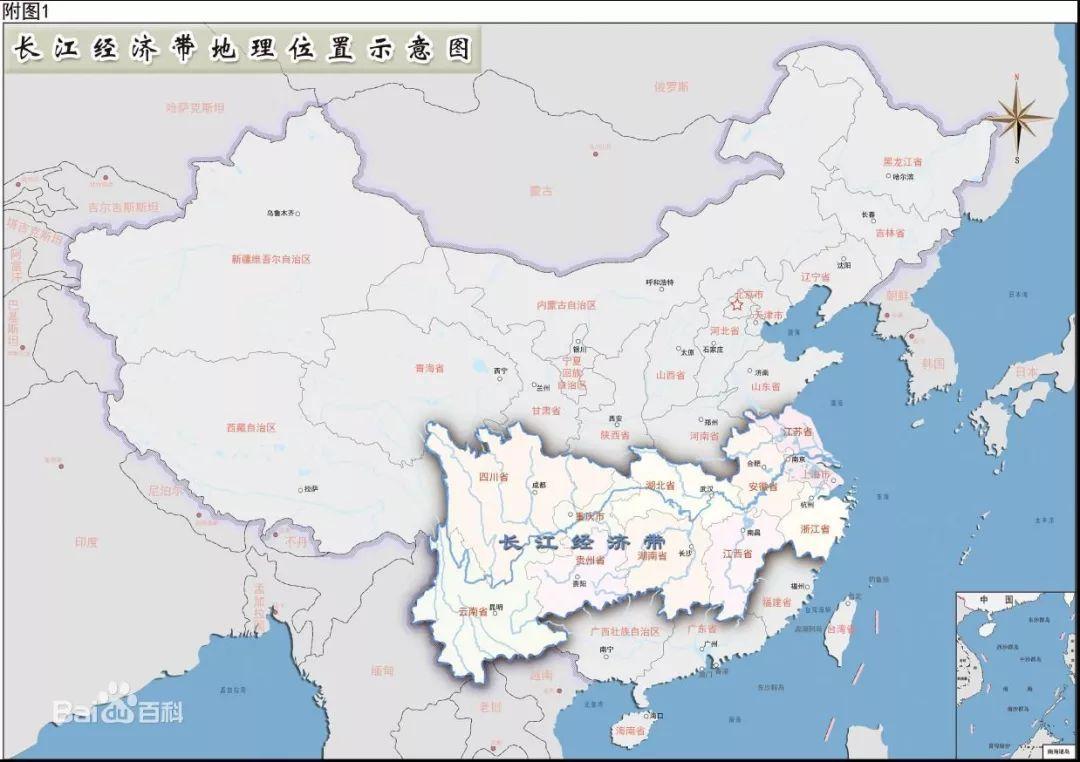 长江黄河地图