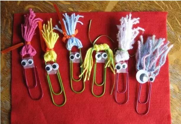 【创意手工】幼儿园回形针的华丽变身,手工,玩具,吊饰