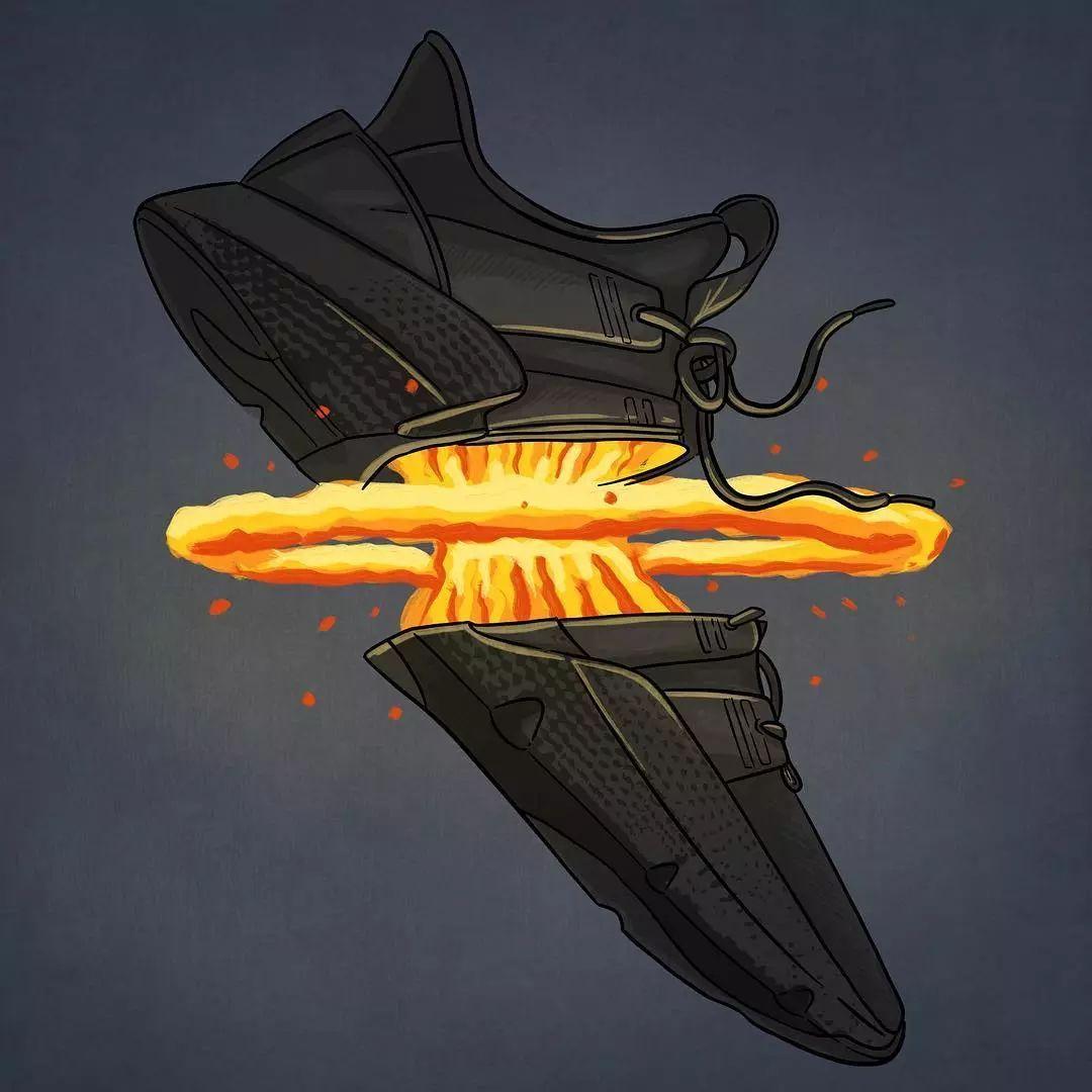 关于手绘球鞋的想象力,你一定没见过