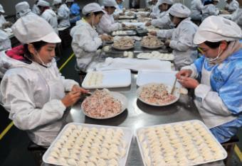 海鲜饺子一绝,王艳红靠皮皮虾饺子年入四千万