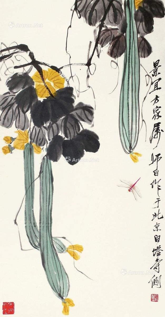 国画名家娄师白30幅经典画作赏析,超养眼