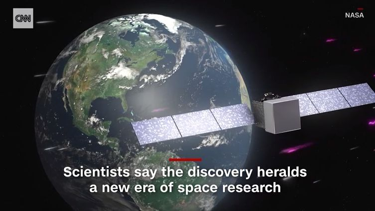 """史上首次!科学家借助南极望远镜追踪到""""幽灵"""