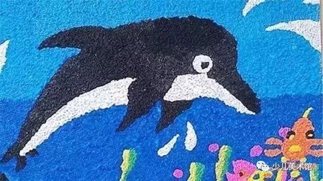 纸浆画 玩转孩子艺术世界,让美与众不同