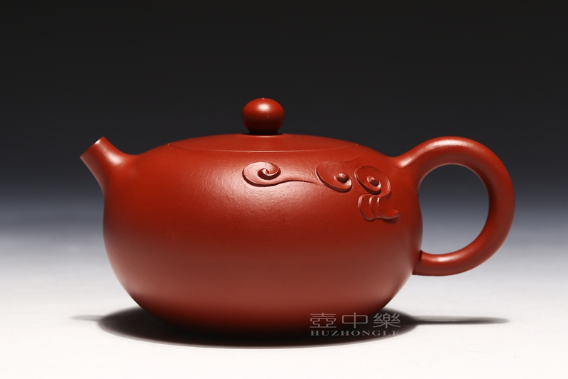 宜兴紫砂壶-张伟军紫砂壶-圆珠-趣淘壶