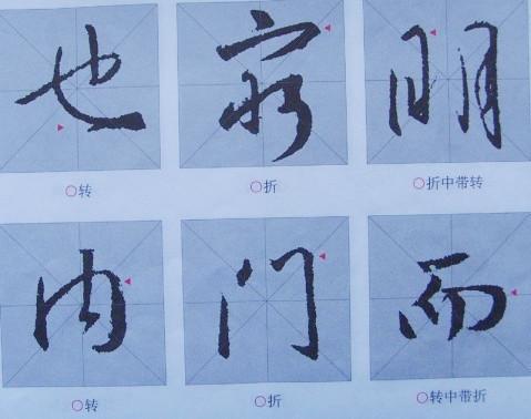 构,关键是掌握笔画的书写方法和技巧.今以兰亭序里的例字,来讲解