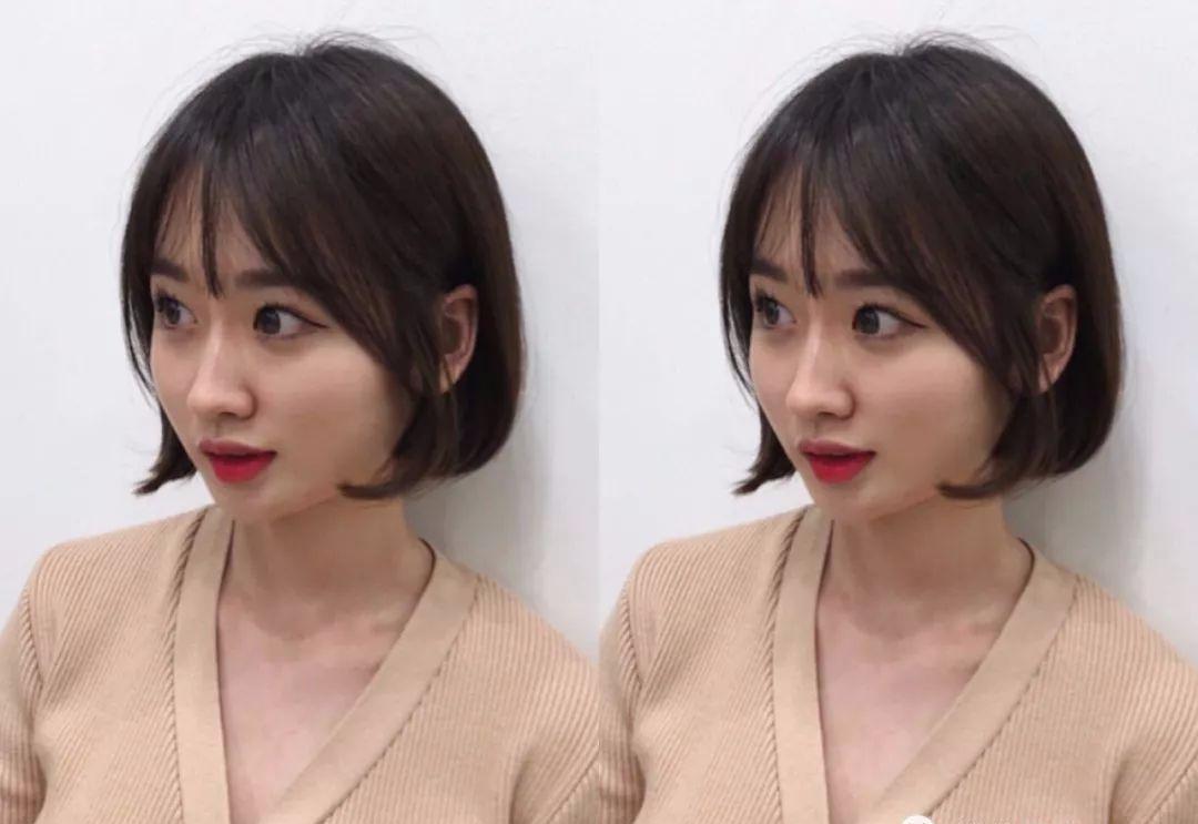 萌妹子必备发型 甜美短发发型扎法_夏音生活_新浪博客