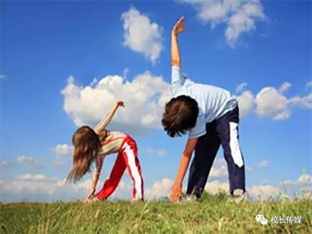 一定要让孩子具备运动健身的理念