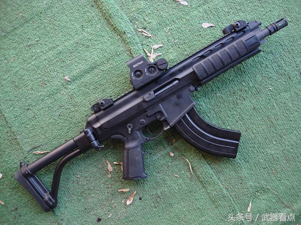 军事丨落选型,罗宾逊xcr模块式战斗步枪