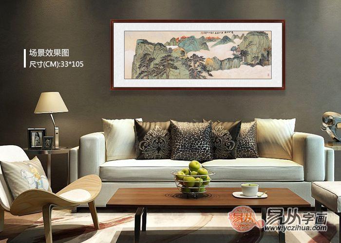 现代中式客厅装饰,契合人心深处对自由生活的向往