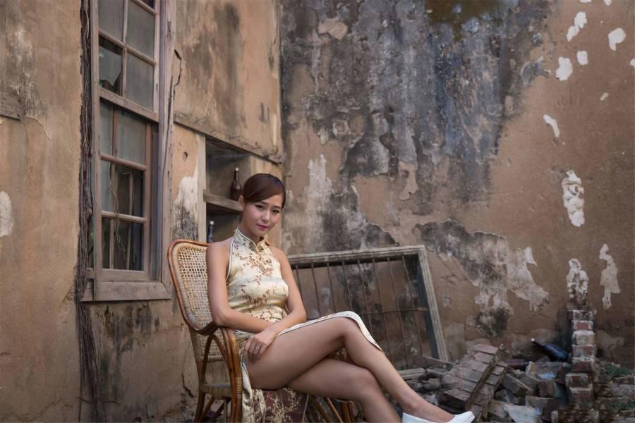 可能只有美又性感的女生才能驾驭吧,旗袍对身材要求有多高
