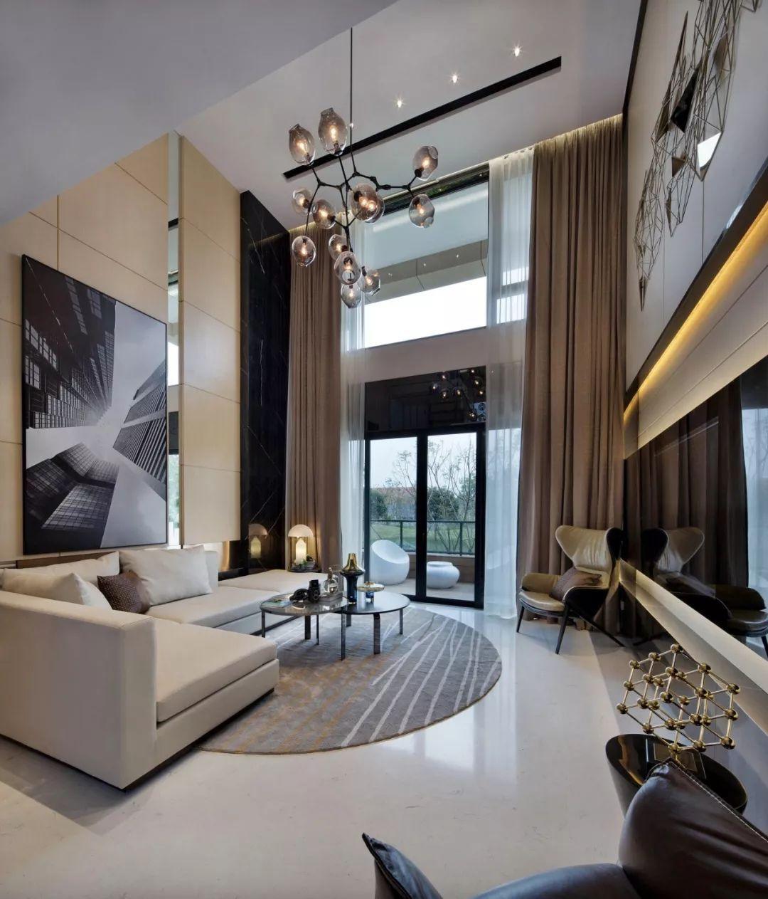loft公寓样板房手绘图