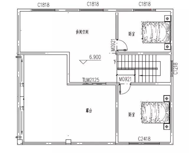 农村自建房设计图12*10