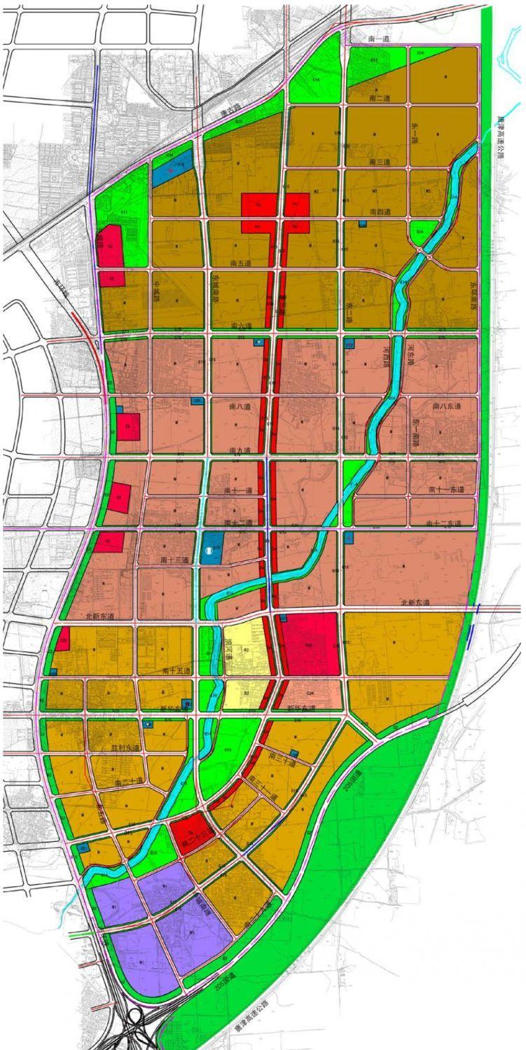 唐山西站周边规划图
