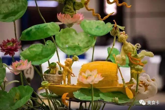 食品雕刻令人叫绝的烹饪艺术!