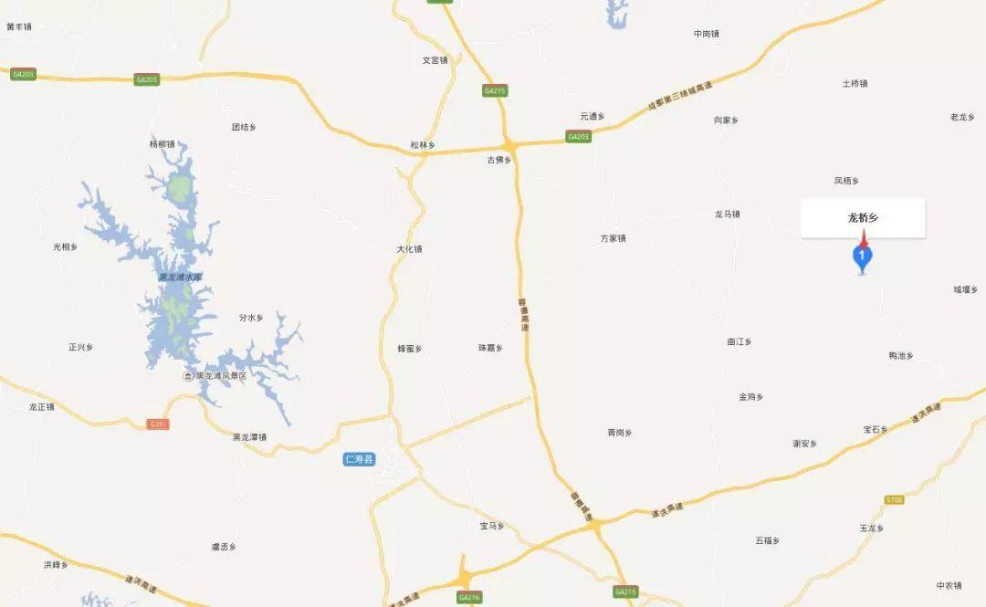 背靠仁简路和国道106线北斗段,双龙路和龙凤路直通仁寿县城.图片