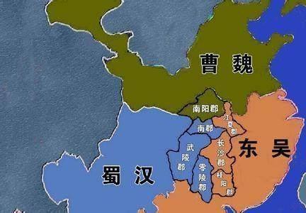 三国荆州地理