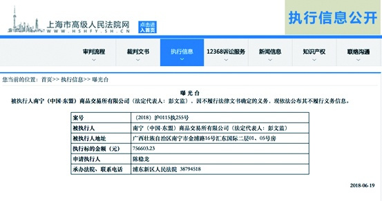 被判非法期貨交易 東盟交易所拒不履行致賬戶凍結