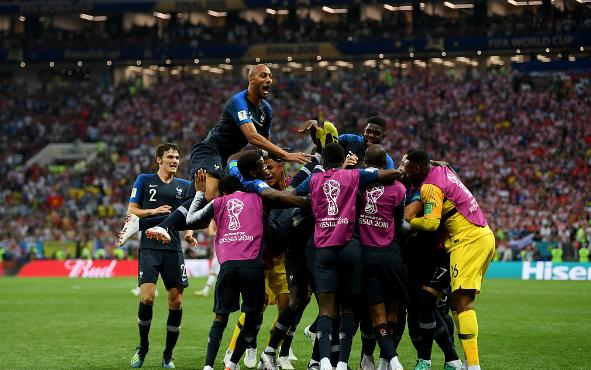 世界杯拒绝冷门,法国夺冠,克罗地亚一短板差别巨大!