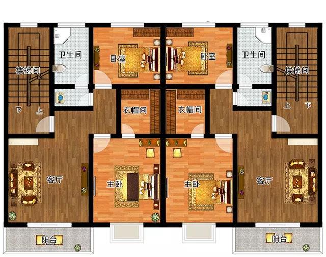 兄弟房屋设计图