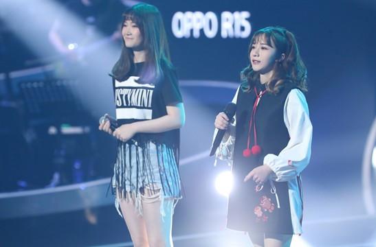 (左:黄安琪,右:刘安琪)