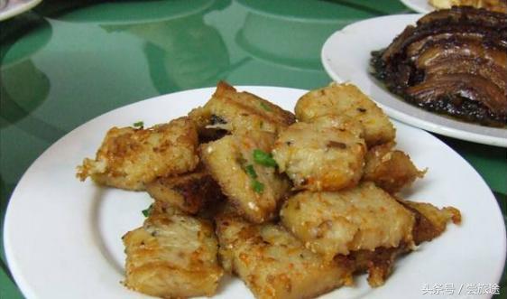 汕头美食旅游——菜头粿