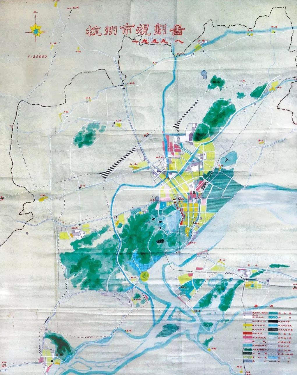 杭州市规划图