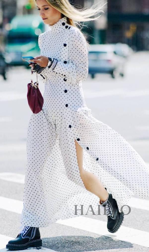 想要穿出大牌时髦感,只缺这一个元素!衣服上多了这一排扣,你和时尚达人的距离更进一步