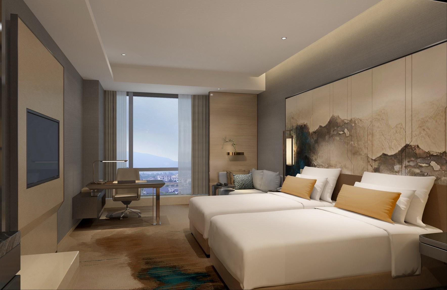 酒店设计|酒店方案设计说明|酒店装修设计(图2)