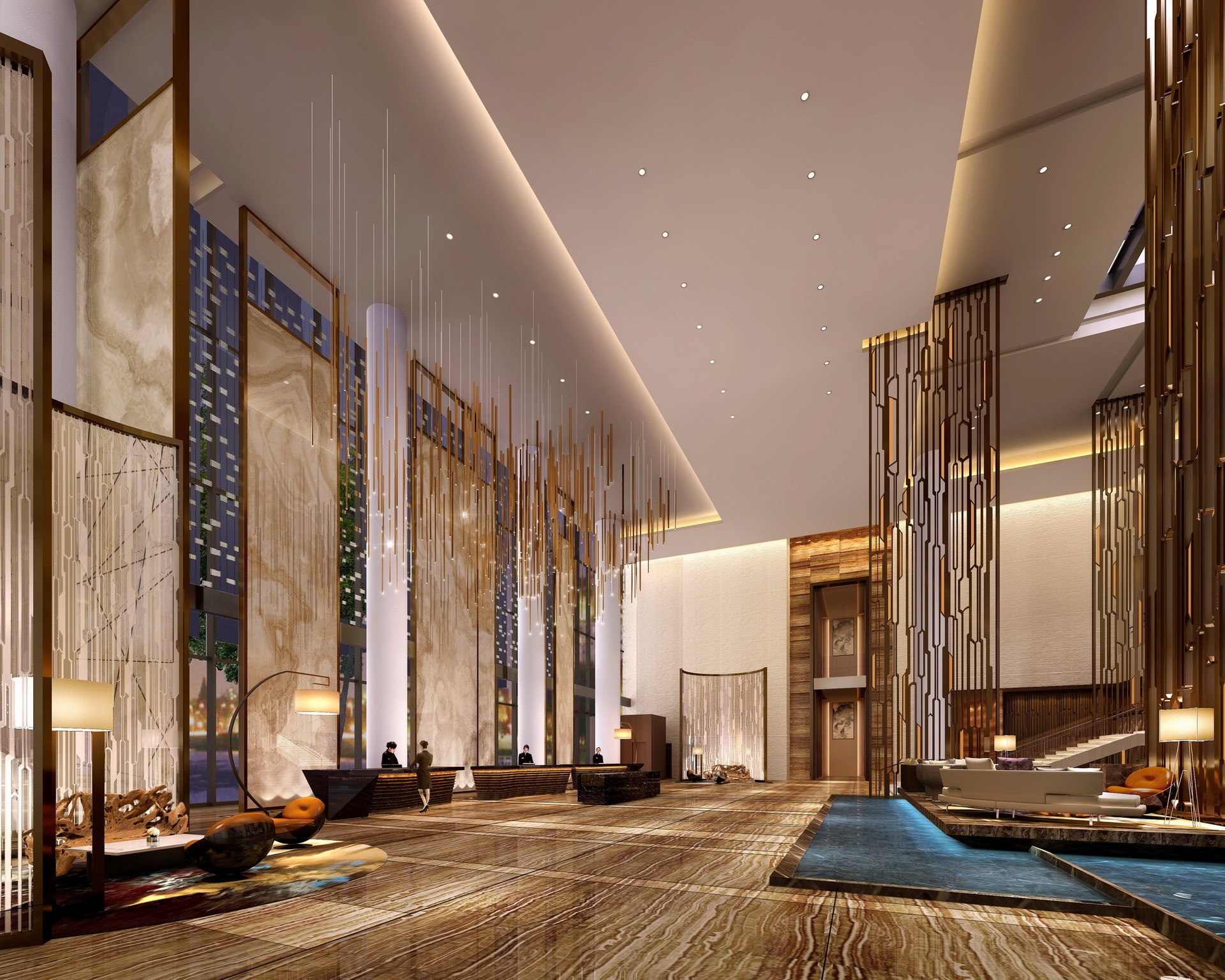 酒店设计|酒店方案设计说明|酒店装修设计(图1)