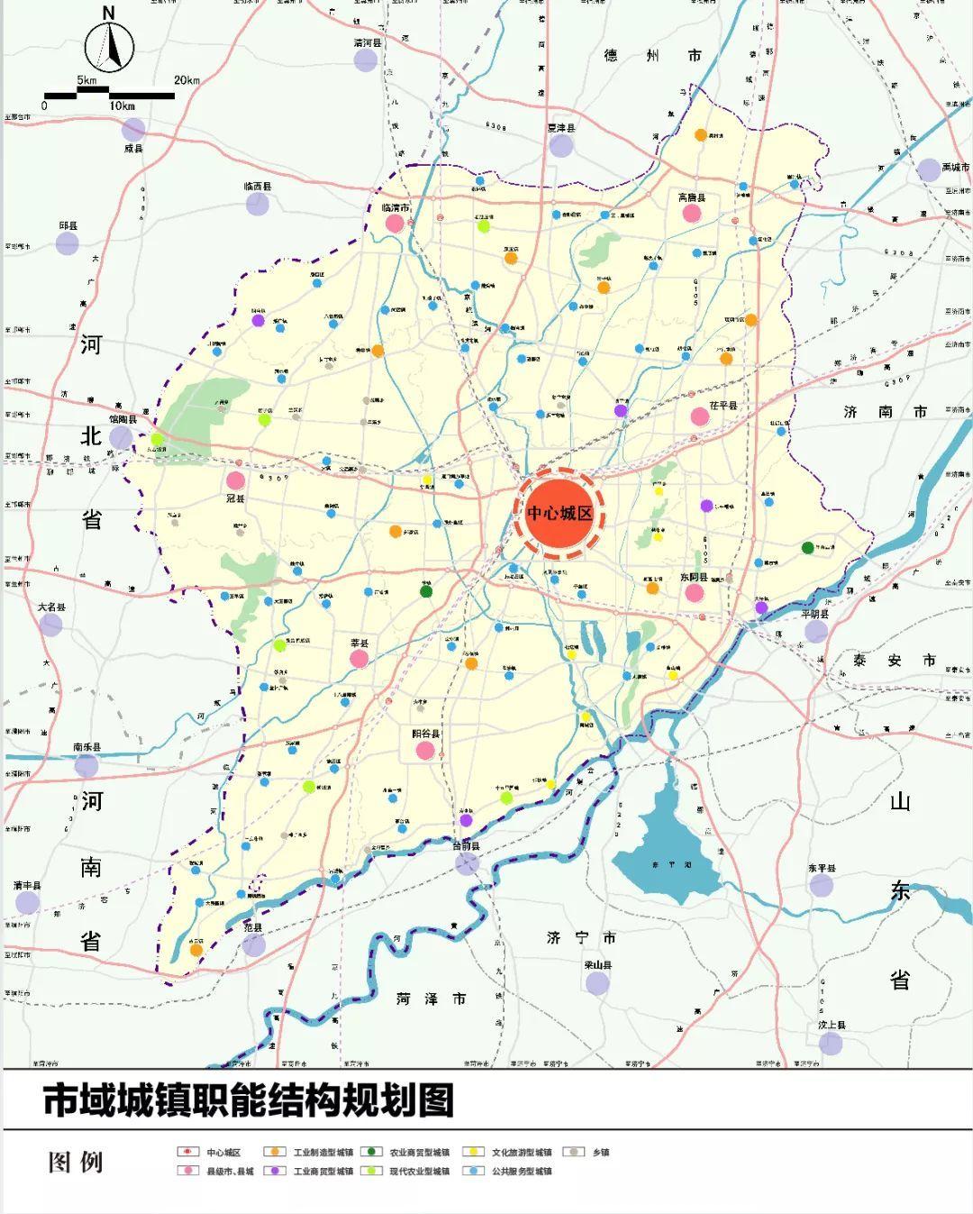 莘县2030年规划图