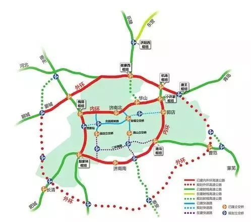 济南绕城高速公路二环线东环段项目全长23.