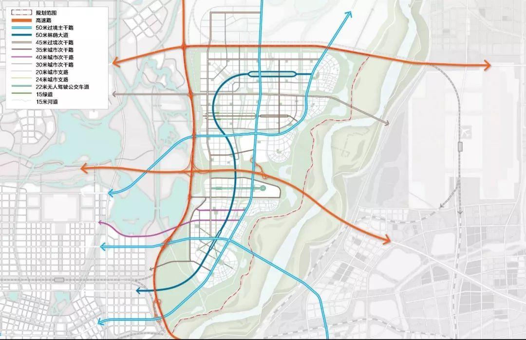 济南市东部最新规划图