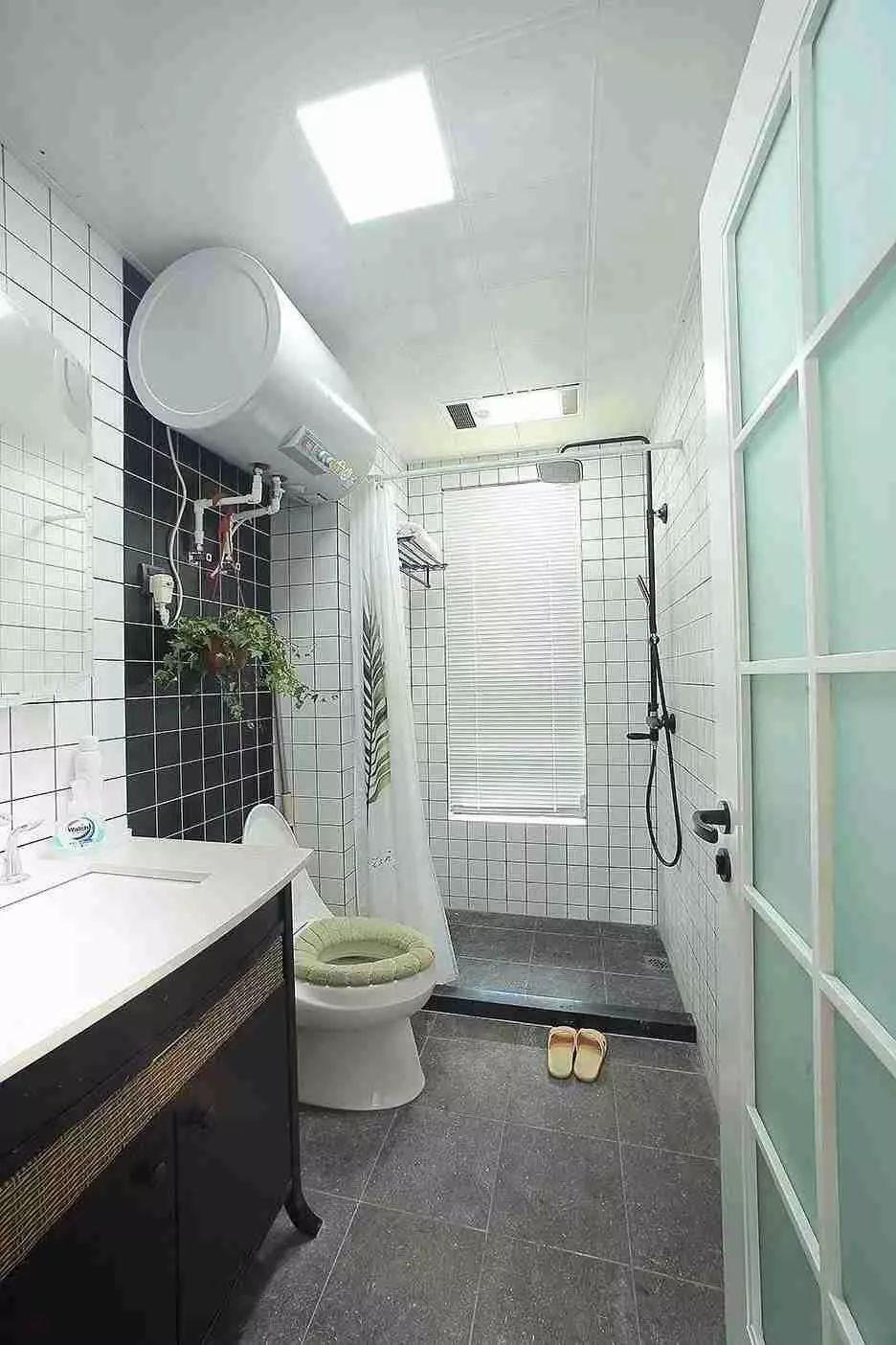 中小户型的卫生间,洗漱台 马桶 淋浴区要这样布局才合理