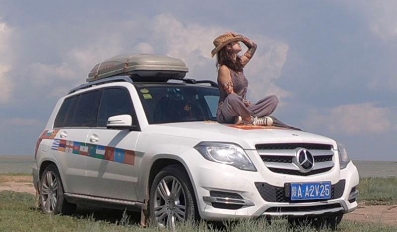 单人自驾穿越9个国家,历经10150多公里